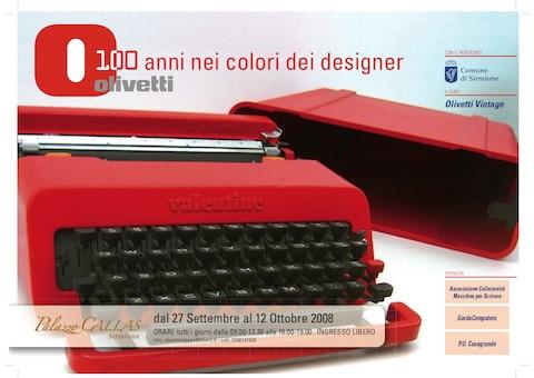 Olivetti design for Cabine nel buco del jackson